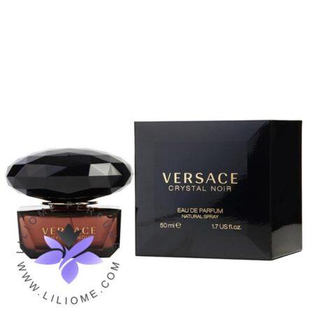 عطر ادکلن ورساچه کریستال نویر ادو پرفیوم-مشکی-Versace Crystal Noir