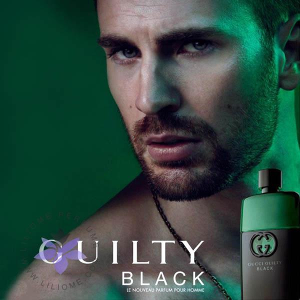 عطر ادکلن گوچی گیلتی بلک مردانه-Gucci Guilty Black Pour Homme