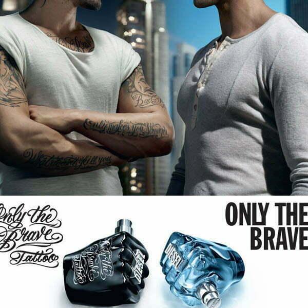 عطر ادکلن دیزل اونلی بریو تاتو-مشتی مشکی-Diesel Only The Brave Tattoo