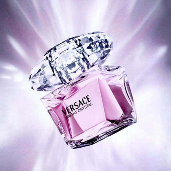ادکلن ورساچه صورتی-برایت کریستال | Versace Bright Crystal | قیمت و خرید |  عطر لیلیوم