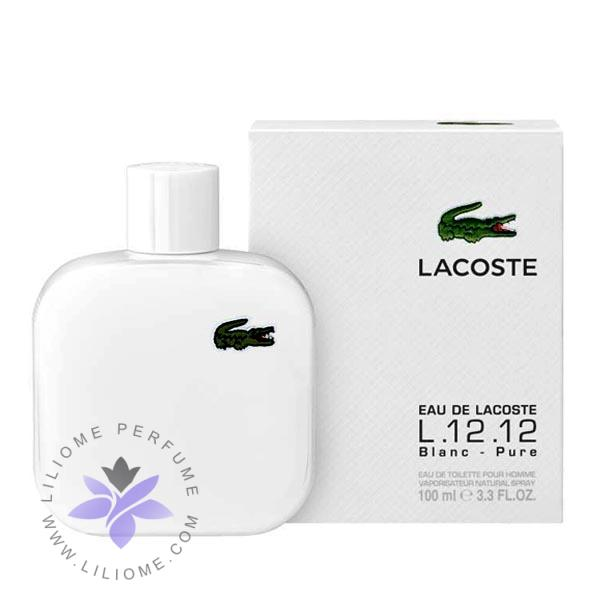 عطر ادکلن لاگوست سفید-Lacoste L.12.12 Blanc