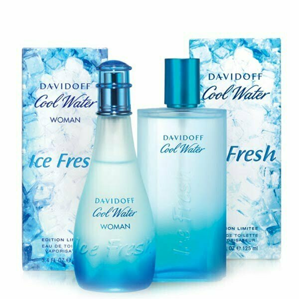 عطر ادکلن دیویدوف کول واتر آیس فرش مردانه-Davidoff Cool Water Ice Fresh