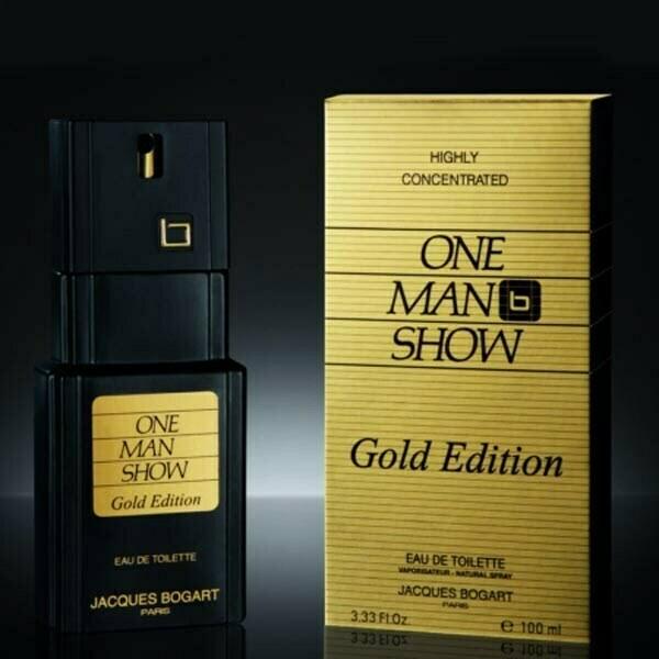 عطر ادکلن بوگارت وان من شو گلد ادیشن-Jacques Bogart One Man Show Gold Edition