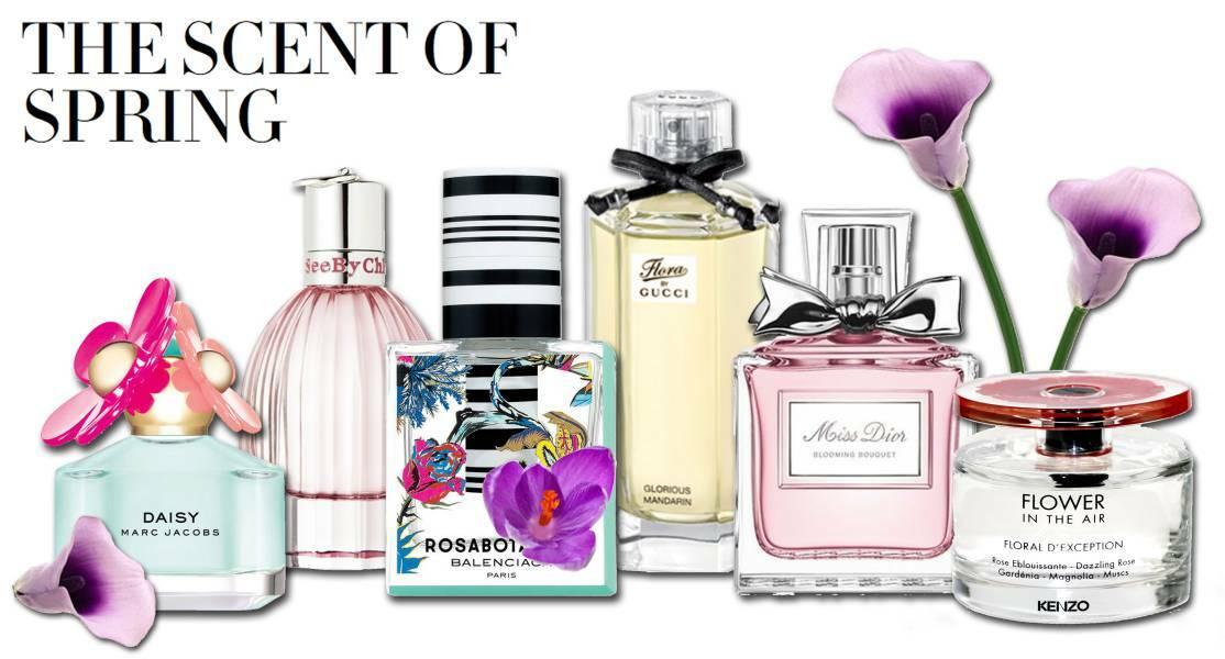 عطر ادکلن زنانه مناسب فصل بهار