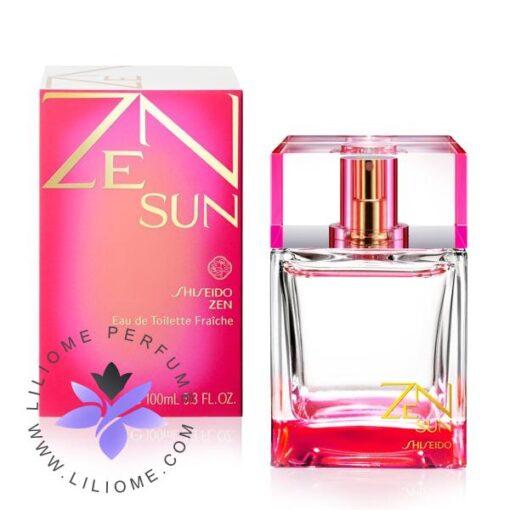 عطر ادکلن شیسیدو زن سان صورتی زنانه-Shiseido Zen Sun