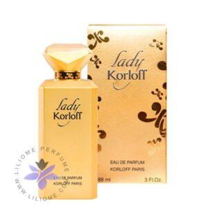 عطر ادکلن کورلوف لیدی-طلایی-Korloff Lady