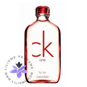 عطر ادکلن سی کی وان رد ادیشن زنانه-CK One Red Edition