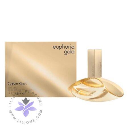 عطر ادکلن سی کی ایفوریا گلد زنانه-CK Euphoria Gold