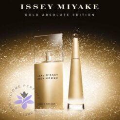 عطر ادکلن ایسی میاکه گلد ابسولوت مردانه-Issey Miyake Gold Absolute