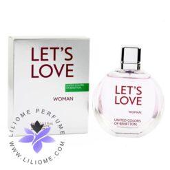 عطر ادکلن بنتون لتس لاو-Benetton Let's Love