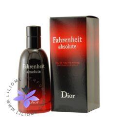 عطر ادکلن دیور فارنهایت ابسولوت-Dior Fahrenheit Absolute