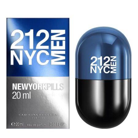 عطر ادکلن کارولینا هررا ۲۱۲ پیلز مردانه-Carolina Herrera 212 NYC Men Pills