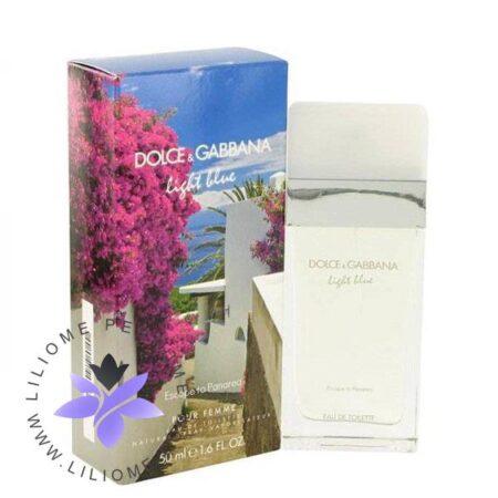 عطر ادکلن دی اند جی دلچه گابانا لایت بلو اسکپ تو پاناریا-Dolce Gabbana Light Blue Escape to Panarea