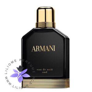عطر ادکلن جورجیو آرمانی ادو نویت عود-Giorgio Armani Eau de Nuit Oud
