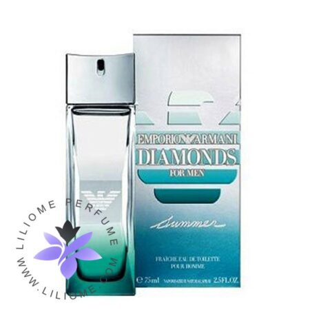 عطر ادکلن جورجیو آرمانی امپریو آرمانی دیاموند سامر فرش مردانه-Giorgio Armani Emporio Armani Diamonds Summer Fraiche