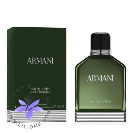 عطر ادکلن جورجیو آرمانی ادو سدر-Giorgio Armani Armani Eau de Cèdre