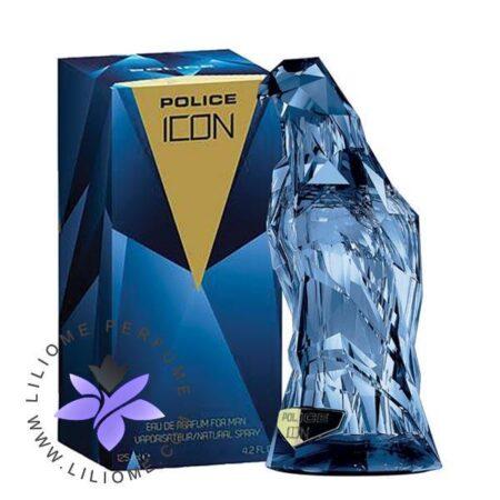 عطر ادکلن پلیس آیکون-آبی-Police Icon