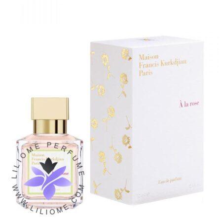 عطر ادکلن فرانسیس کرکجان آلا رز-Maison Francis Kurkdjian A La Rose