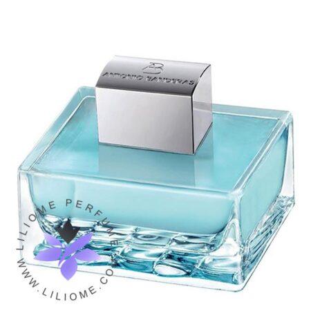 عطر ادکلن آنتونیو باندراس اسپلش بلو سداکشن زنانه-Antonio Banderas Splash Blue Seduction