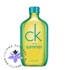 عطر ادکلن سی کی وان سامر 2014-CK One Summer 2014