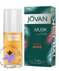 عطر ادکلن جوان تراپیکال ماسک مردانه-Jovan Tropical Musk for Him