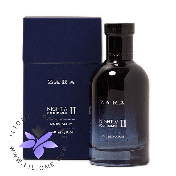 عطر ادکلن زارا نایت پور هوم 2-Zara Night Pour Homme II