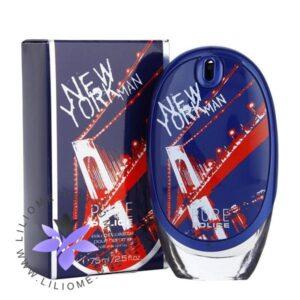 عطر ادکلن پلیس پیور نیویورک مردانه-آبی-Police Pure New York Man