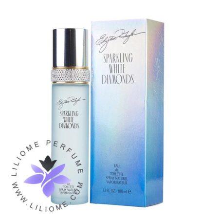 عطر ادکلن الیزابت تیلور اسپارکلینگ وایت دیاموندز-Elizabeth Taylor Sparkling White Diamonds