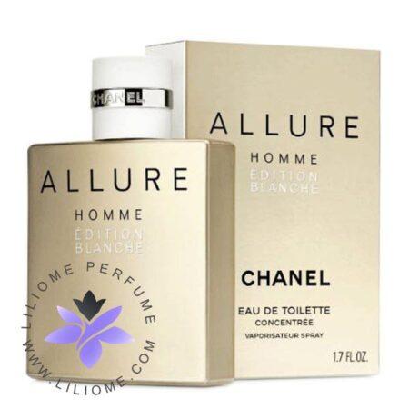تستر عطر ادکلن شنل الور هوم بلانش ادو تویلت-chanel Allure Homme Edition Blanche EDT