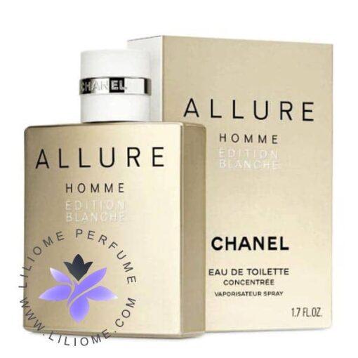 تستر عطر ادکلن شنل الور هوم بلانش ادو تویلت | chanel Allure Homme Edition Blanche EDT