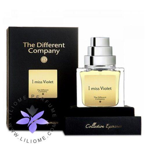 عطر ادکلن دیفرنت کمپانی آی میس ویولت-The Different Company I miss Violet