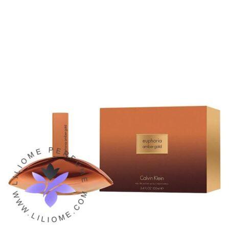 عطر ادکلن سی کی ایفوریا امبر گلد زنانه-CK Euphoria Amber Gold