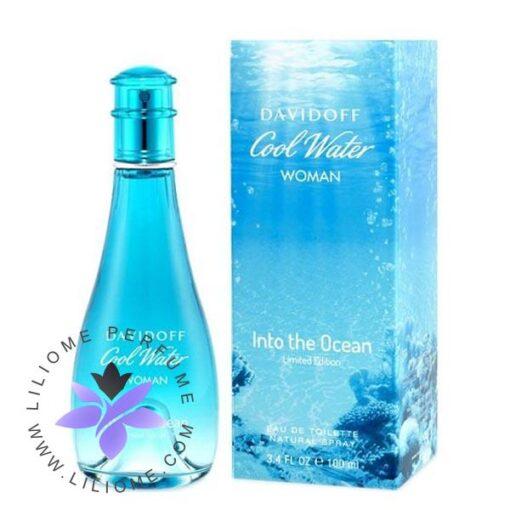 عطر ادکلن دیویدوف کول واتر اینتو د اوشن زنانه-Davidoff Cool Water Into The Ocean for Women