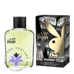 عطر ادکلن پلی بوی مای وی آی پی استوری مردانه-Playboy My VIP Story For Men