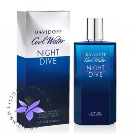 عطر ادکلن دیویدوف کول واتر نایت دایو مردانه-Davidoff Cool Water Night Dive