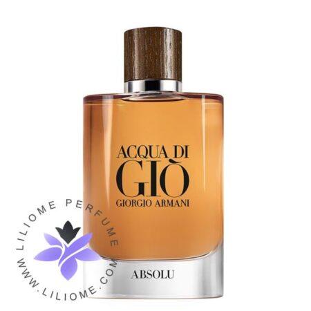 عطر ادکلن جورجیو آرمانی آکوا دی جیو ابسولو-Giorgio Armani Acqua Di Gio Absolu