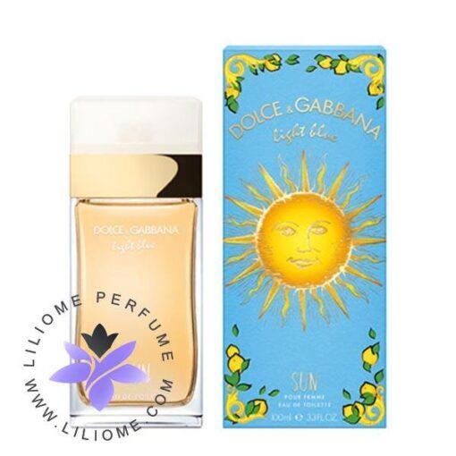 عطر ادکلن دلچه گابانا لایت بلو سان زنانه-Dolce Gabbana Light Blue Sun