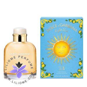 عطر ادکلن دلچه گابانا لایت بلو سان مردانه-Dolce Gabbana Light Blue Sun Pour Homme