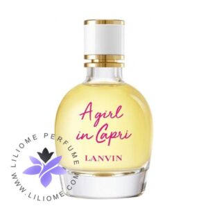 عطر ادکلن لانوین اِ گرل این کپری-Lanvin A Girl In Capri
