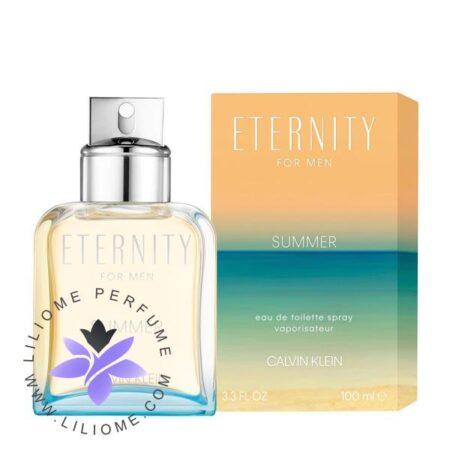 عطر ادکلن کالوین کلین اترنیتی فور من سامر 2019-Calvin Klein Eternity For Men Summer 2019
