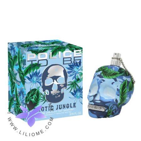 عطر ادکلن پلیس تو بی اگزوتیک جانگل مردانه-Police To Be Exotic Jungle For Man