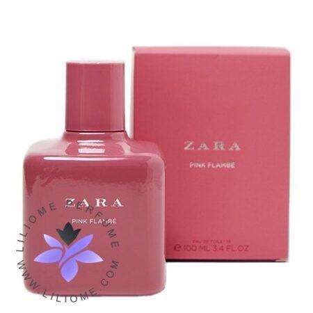 عطر ادکلن زارا پینک فلامبی-Zara Pink Flambe