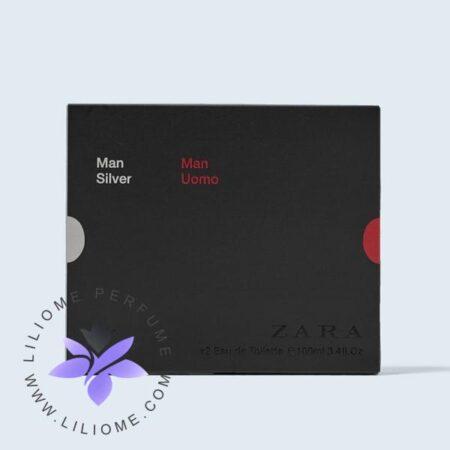 ادکلن زارا من سیلور+اومو-دوقلو-Zara Man Uomo+Silver