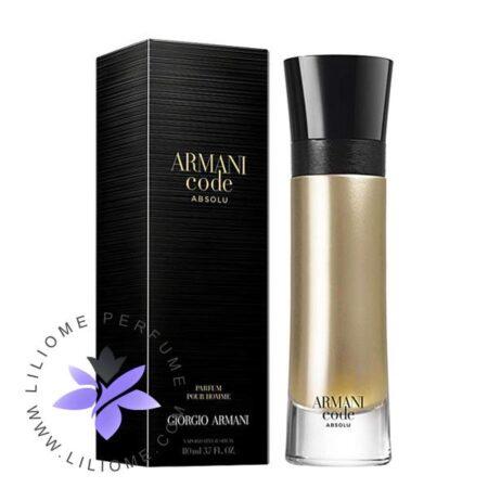عطر ادکلن جورجیو آرمانی کد ابسولو مردانه-Giorgio Armani Armani Code Absolu