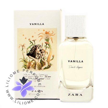 عطر ادکلن زارا وانیلا-فرنچ الگانس-Zara Vanilla-French Elegance