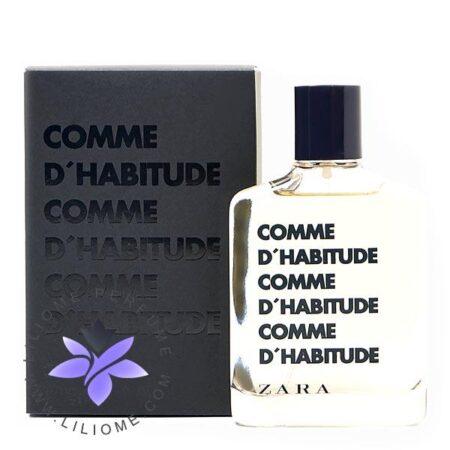عطر ادکلن زارا کام د هبیتود-Zara Comme d'Habitude