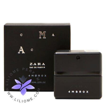 عطر ادکلن زارا امبروکس-Zara 4MBROX