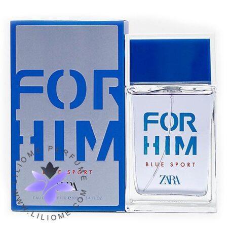 عطر ادکلن زارا فور هیم بلو اسپرت-Zara For Him Blue Sport