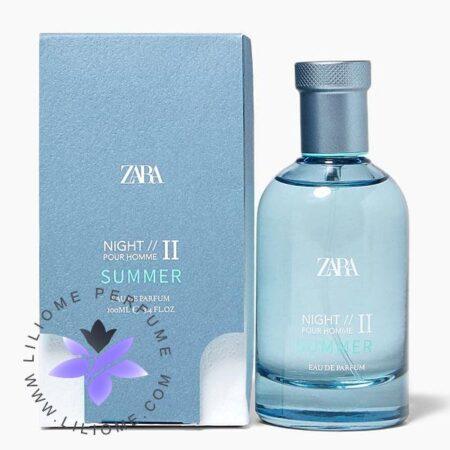 عطر ادکلن زارا نایت پور هوم 2 سامر-Zara Night Pour Homme II Summer