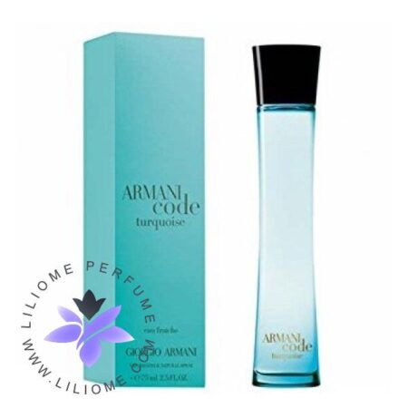 عطر ادکلن جورجیو آرمانی آرمانی کد تورکویز زنانه Giorgio Armani Armani Code Turquoise for Women